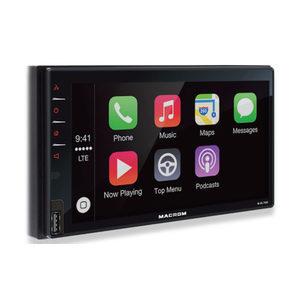 Macrom M-DL7000D Monitor 2 din da 6,8 pollici, BT, usb, ricevitore GPS
