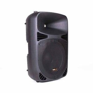 Master Audio SB380BU - D iffusori Pro/Dj 2 vie BI-AMPLIFICATO con lettore multimediale