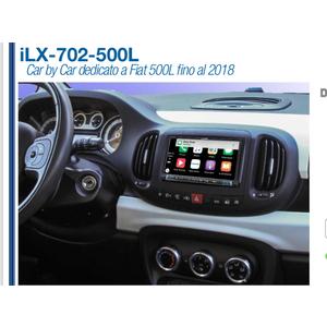 Alpine iLX-702-500L sistema Car By Car dedicato a Fiat 500L fino al 2018