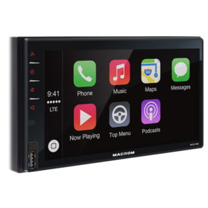 MACROM M-DL7000 2 DIN, Monitor da 6,8 pollici con CarPlay, Android Auto BT
