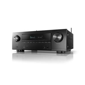 DENON AVR-X1600H DAB Sintoamplificatore AV 4K Ultra HD a 7.2 canali 4K con 145W per canale con Audio 3D e HEOS Built-in SOLO DA ARTESUONO!!!