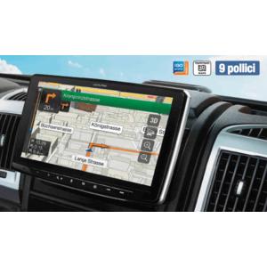 Alpine INE-F904D autoradio multimediale 1 Din DAB + 9 pollici navi integrato