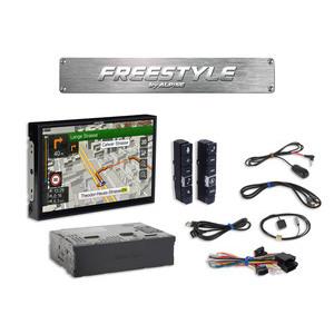 Alpine X903D-F monitor Freestyle con display da 9 pollici e sistema di navigazione