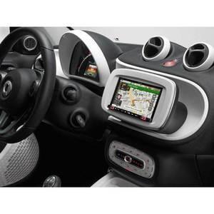 INE-W720SM-W Monitor 7 pollici con navigatore per Smart 453 colore bianco