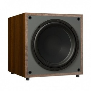 BELLISSIMO SUBWOOFER MONITOR AUDIO - MONITOR MRW-10 WALNUT SUBWOOFER COLORE NOCE