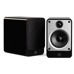Q Acoustics Concept 20 coppia di diffusori da scaffale colore nero high gloss - nuove, garanzia Italia da Artesuono Pietrasanta
