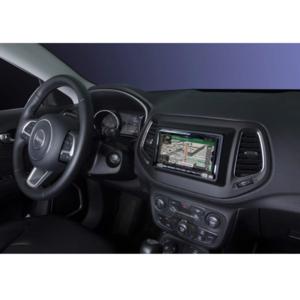 Alpine INE-W720JC sistema 7 pollici dedicato a Jeep Compass dopo 2017 con navigatore integrato