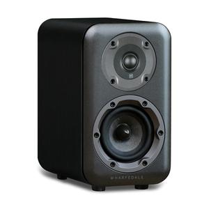 Wharfedale D320 Coppia diffusori da scaffale  2 vie - colore nero - garanzia ufficiale Italia