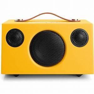 Audio Pro ADDON T3 + Altoparlante Wireless bluetooth iOS , Android , Windows Phone ® and Mac / PC - colore Yellow - garanzia ufficiale Italia